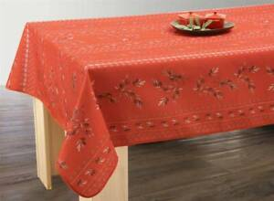 60X80quot; 150 200cm RECTANGLE OLIVETTES RED COUNTRY FRENCH PROVENCE TABLECLOTH