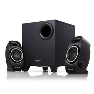 Creative Labs A250 2.1 Speaker System IL RT6 14431 51MF0420AA002 UG $29.99