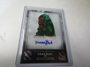 KIRAN SHAH, as NAMBI GHIMA 2020 The RISE of SKYWALKER SERIES 2 AUTOGRAPH CARD
