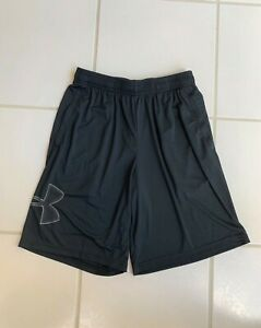 Under Armour Heat Gear Loose Fit Athletic Shorts Black Mens M NWOT Great! $16.00