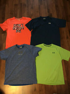Under Armour Adidas Clothing Lot Mens Size XL Athletic Running T Shirts 4 $25.00