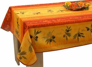60x120 150 300cm RECTANGLE OLIVO RED COUNTRY FRENCH PROVENCE TABLECLOTH NEW