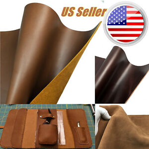 Full Grain Leather Square Brown Cowhide Tooling DIY Leathercraft 5 6OZUS Stock