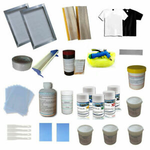 New Brand 1 Color Silk Screen Printing Consumable Materials Kit Low Cost Kit $223.25