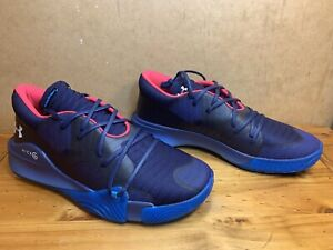 Under Armour UA Anatomix Spawn Low Basketball Shoes Size Men US 14 3022384 401 $53.00