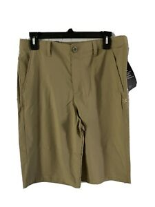 NEW Boy's Under Armour Shorts XL Youth Khaki $45 For $20 $19.99