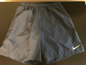 Nike Dri Fit Men's Gray Lined Running Shorts Size XL Extra Large $22.95