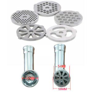 Kitchen Meat Grinder Plate Food Grinding Accessory Replacement Stainless Steel