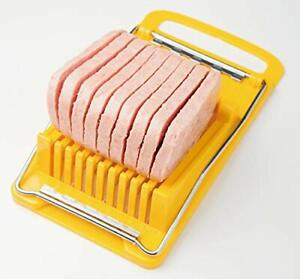 Luncheon Meat Spam Cheese Slicer Quality Stainless Steel Wire Slicer BPA Free