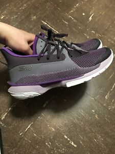 Under Armour Grade School Curry 7 'BAMAZING' Basketball Shoes Big Kids 6.5 Y $64.00