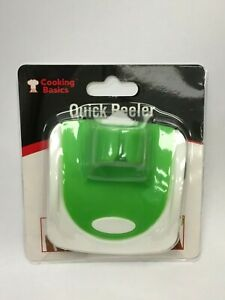 2 Palm Vegetable Peeler w/ Finger Grip