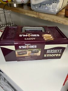HERSHEYS SMores Smores Caddy Carry Case And Organizer Camping Box Scuff Box