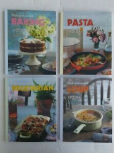 Made From Scratch 4 Cook Books : Baking Pasta Vegetarian Soup by Love Food New