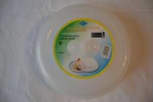 New Microwave Plate Cover Clear Steam Vent Splatter Lid