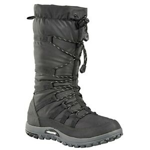 BAFFIN Women#x27;s Escalate Nylon Toggle Waterproof Warm Tall Winter Boots Charcoal