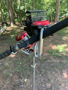 Rod Holders Bank Fishing 2 post Heavy Duty . Dual Angle $20.00 each 36 quot; tall