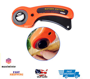 Rotary Cutter With 45mm Blade Sewing Quilters Fabric Leather Cutting Tool Set $6.49