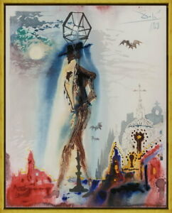 Framed Salvador Dali Don Jose Giclee Canvas Print Paintings Poster Reproduction $70.49