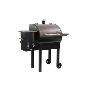 Camp Chef SmokePro DLX Pellet Grill in Bronze Automatic Auger Clean Out System