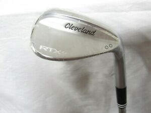 New Cleveland RTX 4 Satin 52* Wedge 52.10 Tour Issue S400 Stiff flex Steel RH