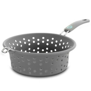 WW Healthy Kitchen 1.8 Quart Collapsible Silicone Steamer Basket and Colander in