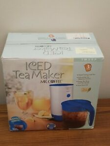 Mr Coffee Iced Tea Maker TM30FS Made by Sunbeam with Pitcher and Manual