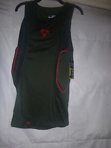 NEW UNDER ARMOUR MPZ COMPRESSION BASKETBALL PADDED TANK SIZE XXL NWT $59.99 $19.99