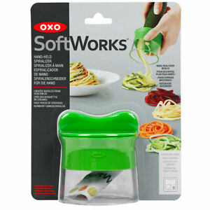 OXO Good Grips 3-Blade Hand Held VEGETABLE SPIRALIZER Noodles Zucchini