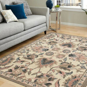 Mohawk Home Cayuga Blush Indoor Floral/Botanical French Country Area Rug, Runner