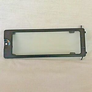 GE Microwave Model JVM1540DP1BB Light Housing Glass Cover Replacement Pre Owned