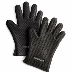 New CUISINART Heat Resistant Silicone Gloves 2 Pack