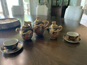 Vintage Satsuma Tea Set