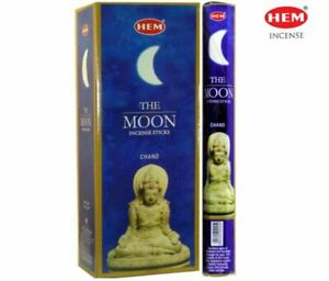 Hem The Moon Incense Bulk 6 x 20 Stick Box 120 Sticks Free Shipping