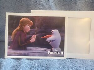Frozen 2 Disney Movie ClubLimited Edition Lithograph Collection $5.00
