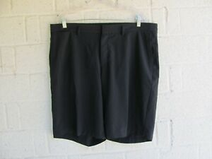 MENS NIKE GOLF SHORTS SZ 38 DRI FIT STANDARD FIT COLOR BLACK PRE OWNED $10.50