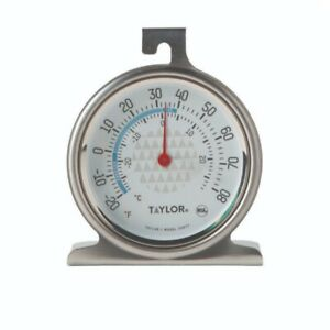 Taylor Home Fridge Freezer Thermometer 3507 Hanging Standing
