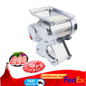 Commercial Stainless Meat Slicer Slices Cutter Electric Meat Cutting Machine110V