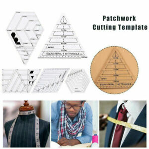 Acrylic Quilting Rulers Patchwork Template Cutting Rulers DIY Sewing Talior Tool $29.44