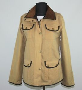 Mongo womens hunting shotting active jacket outdoor wear Size M waxed