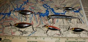 Vintage Storm Lures Lot Of 6