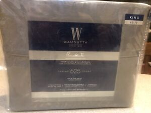 New Charcoal Wamsutta Sheet Set King Size 625 TC