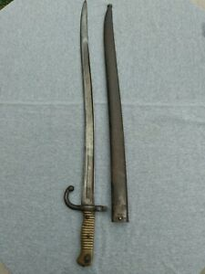 Vintage French M1866 Chassepot Sword Bayonet $240.00