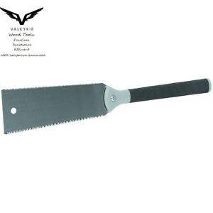 Valkyrie 10quot; Double Sided Razor Pull Saw w 7 16 TPI for Pro Hobby DIY $26.88