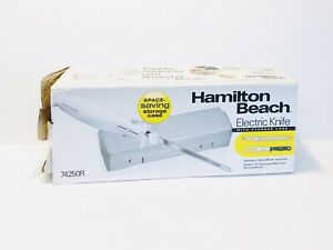 NEW HAMILTON BEACH Electric Knife #74250R Carve Meats Poultry Bread Open Box