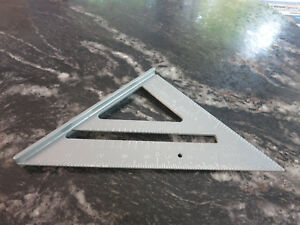 ALUMINUM ALLOY RAFTER SPEED SEWING SQUARE 7quot; TOOLSHOP NEW $4.95
