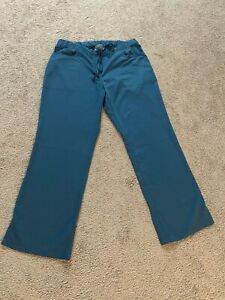 Grey Anatomy Scrubs Pants Teal Blue Size Large .Free Shipping