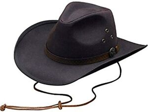 Outback Trading Trapper Outdoor Hunting Cowboy Hat Brown Small
