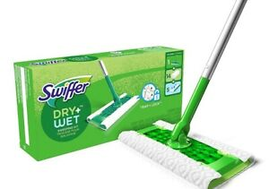 Sweeper With 1 Mop 19 Refills Dry Wet All Purpose Floor Mopping
