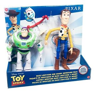 2019 Toy Story 4 Buzz Lightyear amp; Woody Forky Adventure Pack LIMITED NEW