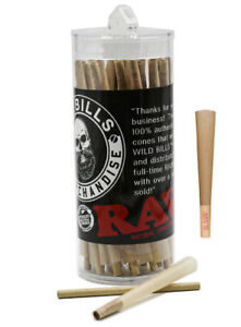 RAW Classic 1 1 4 size pre rolled cone with filter tip 100 packs AUTHENTIC $24.99